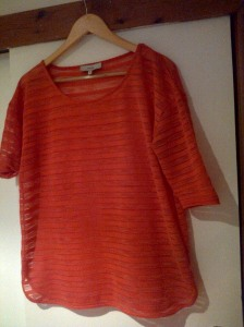 Coral Top Orange Blog
